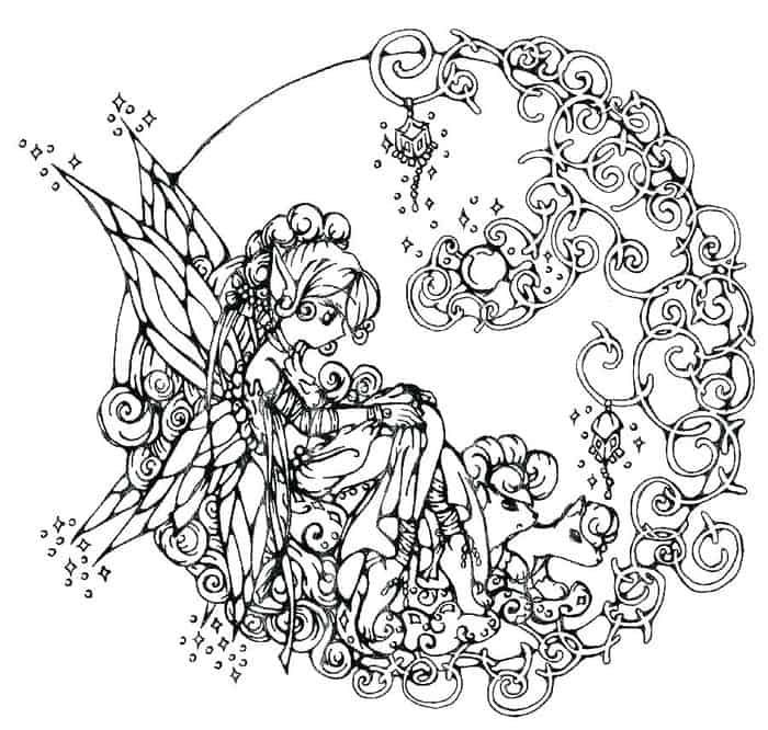 Fairy Tail Coloring Pages Fairy Coloring Pages Fairy Coloring Free Coloring Pages