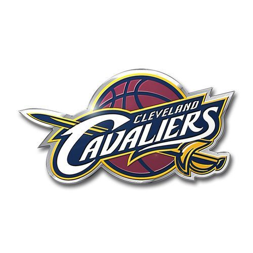 Cleveland Cavaliers Auto Emblem - Silver