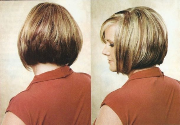 bob hairstyle back view | Line Bob Haircuts Back And Side Views - Free ...