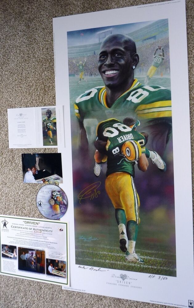a3aeb9902c3 eBay #Sponsored GREEN BAY PACKERS DONALD DRIVER SIGNED Driven GORALSKI  Lithograph LE #3 DVD