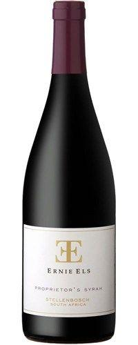 Ernie Els Proprietor's Shiraz scores 84 Points. #wine #SouthAfrica