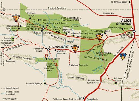West MacDonnell National Park, Alice Springs, Australia
