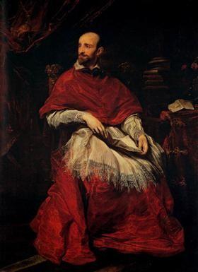 Portrait of Cardinal Guido Bentivoglio - Anthony van Dyck