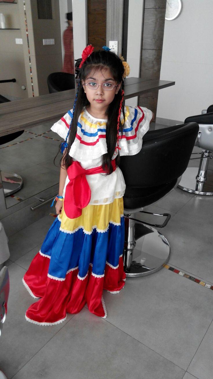 Columbian girl