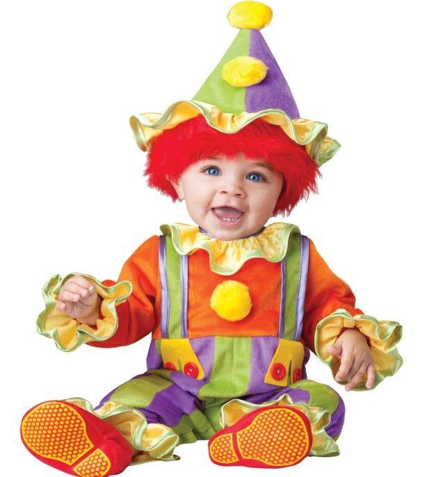 Детский костюм клоуна
