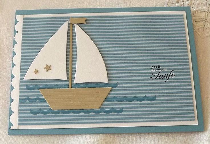 Taufkarte von Liebe Grüsse auf DaWanda.com