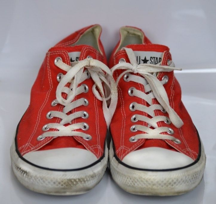 Classic Red Converse Size 12 Unisex Men
