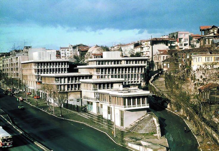 SSK Zeyrek Tesisleri 1963- 1970 Zeyrek- İstanbul Mimari tasarım: Sedad Hakkı Eldem Foto:Ağa Han Mimarlık Arşivi