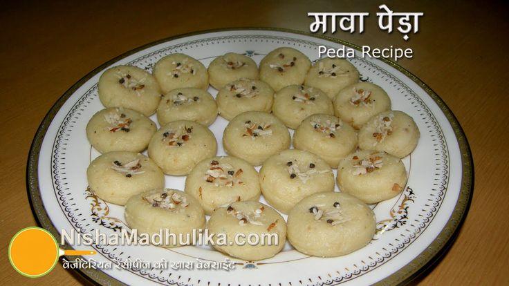 Peda Recipe -  Mawea Peda - Khoya Peda Recipe