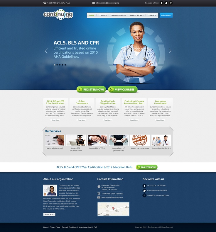 medical website design - Web Page Design Ideas
