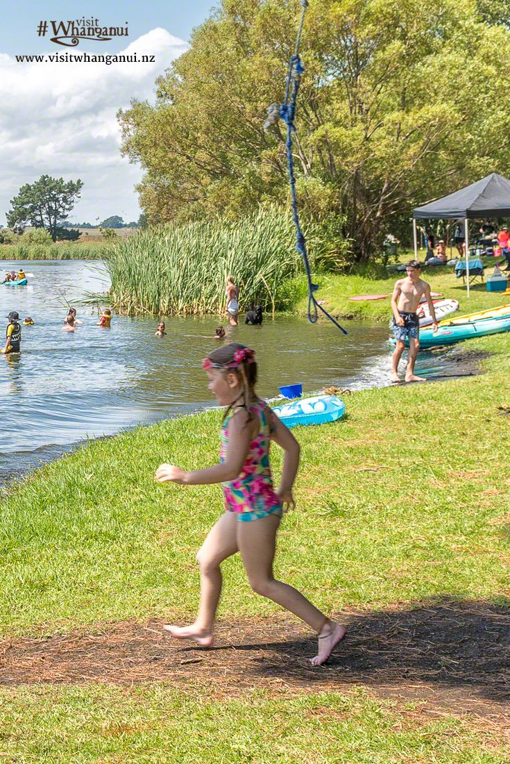 Lake Wiritoa, Whanganui, New Zealand - a wonderful place for a family picnic and…