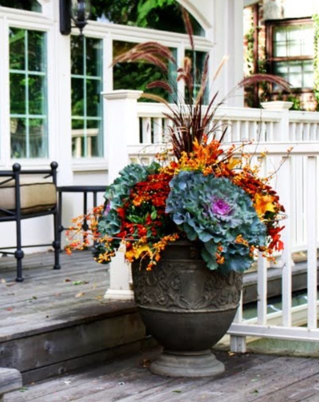 Fall Outdoor Containers