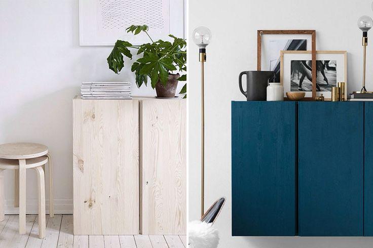 11 snygga tips: Så stylar du Ikea-skåpet Ivar