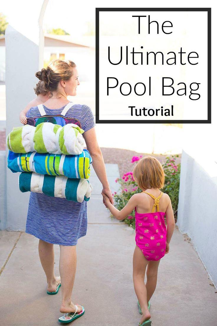DIY the perfect pool or picnic bag!