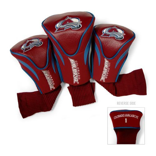 Team Golf Colorado Avalanche Contour Sock Head Covers 3-Pack - Golf Equipment, Collegiate Golf Products at Academy Sports