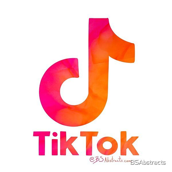 Tik Tok Summer Vibes Tik Tok Logo Filled With Bs Abstracts By Bsabstracts Redbubble App Icon Design App Logo Iphone Wallpaper Tumblr Aesthetic