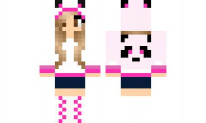 minecraft skin Teddy Girl