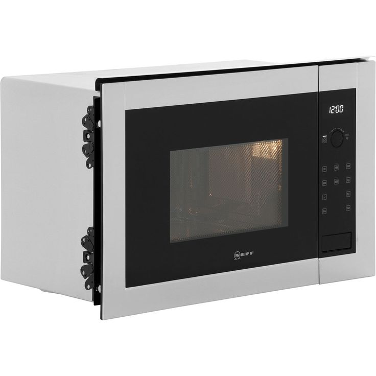 NEFF Classic Collection 2 H11WE60N0G Built In Microwave - Stainless Steel