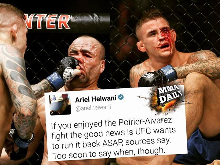 Would you like to see this go (a possible) 5 rounds as a Fight Night main event or a 3 round under card fight? #mma #ufc