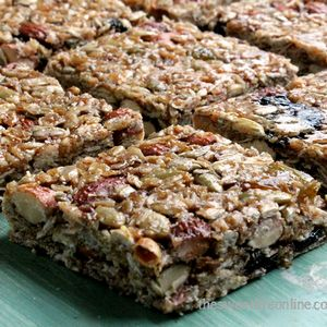 DIY Vegan Granola Bars | foodraf