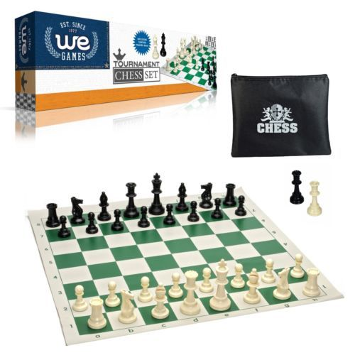 This chess set meets the World Chess Federation's (FIDE) height, weight, and proportions standards for tournament play. It is the perfect set for the serious chess player or a beautiful gift for the novice player that enjoys the feel of heavier pieces.  #Tournament #Heavy #Garden #Chess #Portable #Hobby #Play