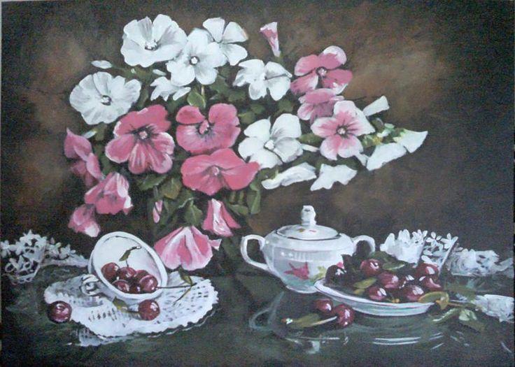 ARTWORK (Painting) flowers