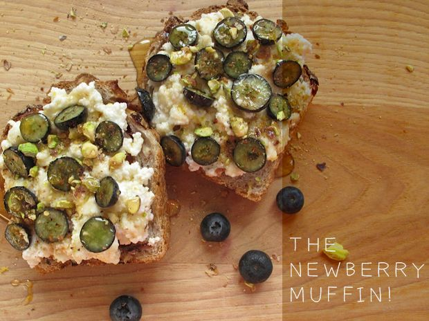 The Newberry (blueberry) Muffin!: Cut Blueberries, Ricotta, Blueberries Muffins, Newberry Muffins, 1979