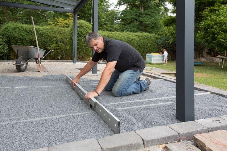 Terrassenplatten verlegen Tipps & Tricks zum richtig