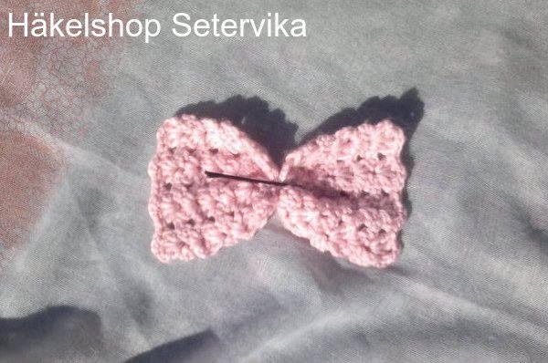 Rosa Haarschleife,Haarschleife gehäkelt,gehäkelter Schmuck für Kinder,Muttertag Geschenk,Geschenk für Sie, Geschenke für Frauen,Haarschmuck von HaekelshopSetervika auf Etsy