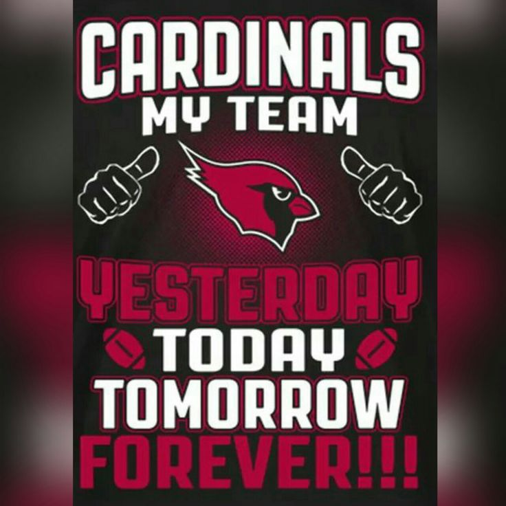 Arizona Cardinals Fan for Life! #BirdGang #AZLadyBirds