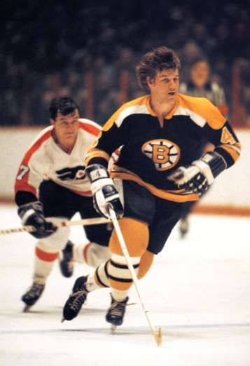 BOBBY ORR: The most recognizable and arguably the best defenseman to ever play in the NHL, Orr is the only defenseman to win the Art Ross Trophy and score nine hat tricks, and the only player to win the Art Ross, Norris, Hart and Conn Smythe Trophies in the same season.. - 100 greatest players in NHL history - October 11, 2016