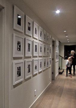 Family Gallery Walls - contemporary - hall - vancouver - Gaile Guevara