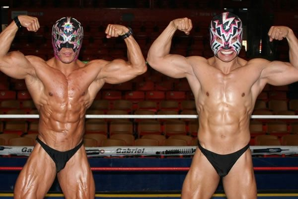 "wrestling-abuse: "" Doomed tag team. "" 