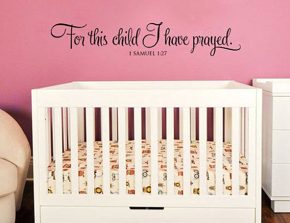 Nursery Vinyl Wall Art Decal This decal is for approximately a X design unless you request otherwise. & 233 best nursery decor ideas images on Pinterest | Child room ...