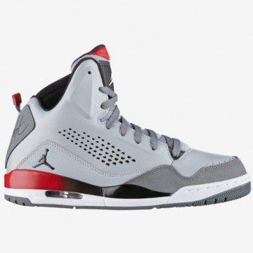 chaussures air jordan sc 3 grises et noires pour homme 629877 002