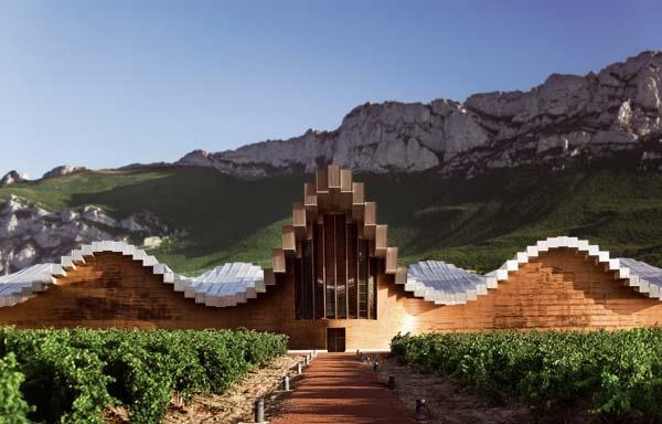 Must visit wineries bodegas ysios laguardia spain wine pinterest - Casas prefabricadas en la rioja ...