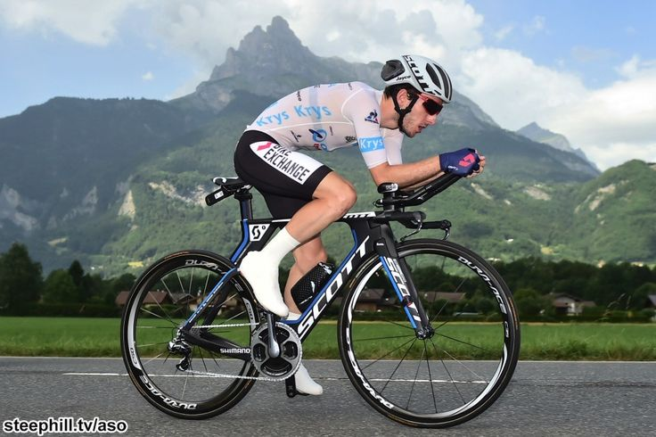 Adam Yates had a solid enough run on stage 18 mountain ITT. TdF 2016.