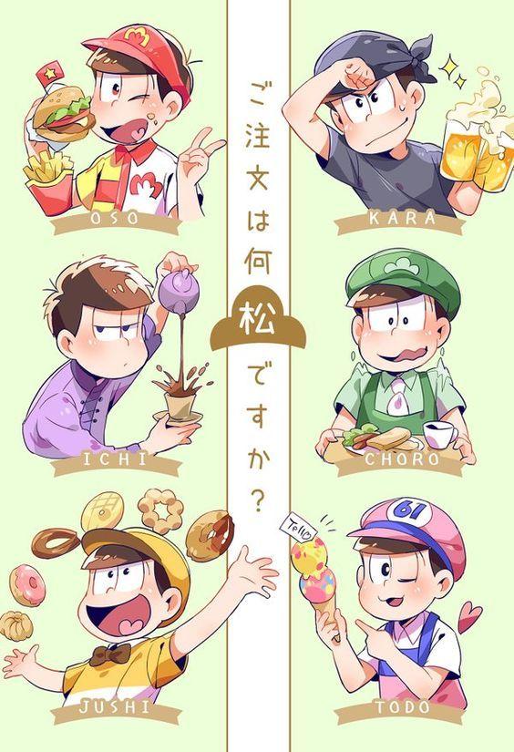 OSOMATSU-SAN, Twin 6 of Matsuno family, Working