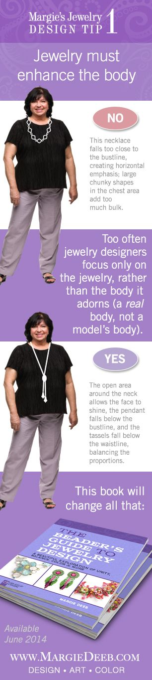 Explore the interaction of jewelry and the body: how it moves, how it drapes, how it guides the viewer's eye to compliment–or clash–with different body sizes and wardrobe. Preorder now on Amazon for June 2014 delivery.