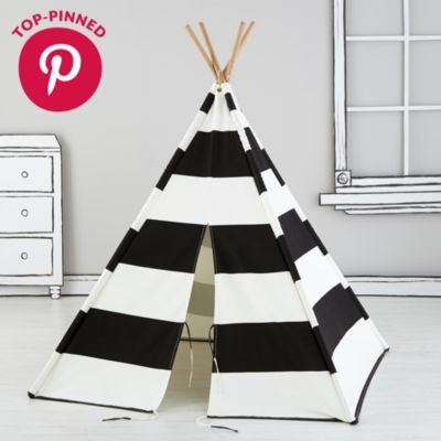 Everyone needs a little space just for themselves.  These teepees are the perfect home away from home while trailblazing the playroom frontier.