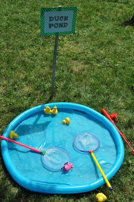 """So cute! A """"duck pond!"""" would be a great activity or game!"""
