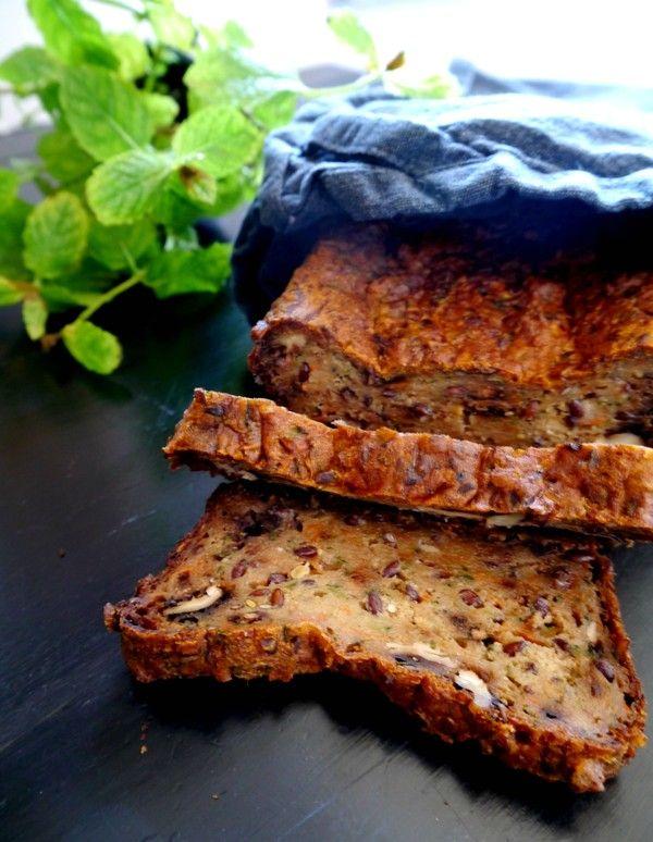 Glutenfree healthy bread, recipe in blog!