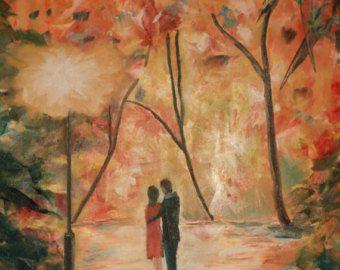 """Randez vous. Original oil painting on canvas* - Size: 27,56"""" x 19,69"""" (70 cm x 50 cm) - Edit Listing - Etsy"""