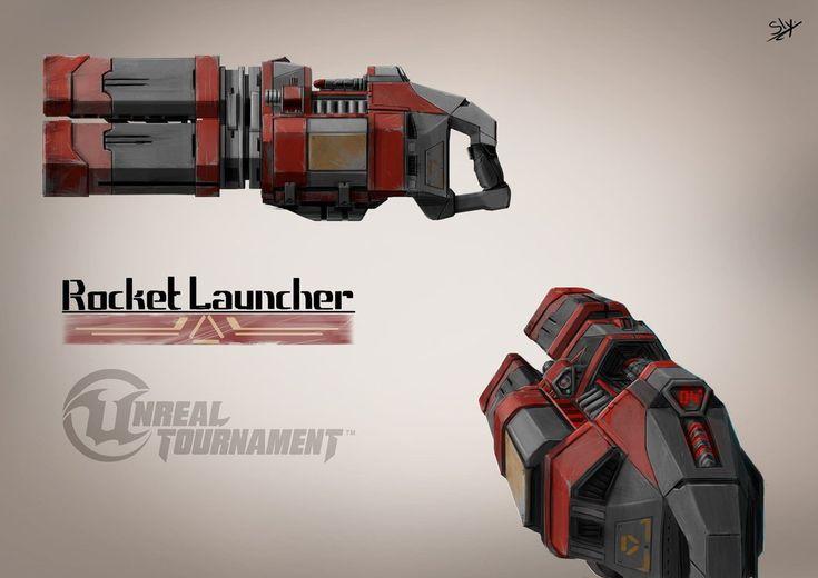 Unreal Tournament - Rocket Launcher Concept Art by Sly-Mk3 on DeviantArt