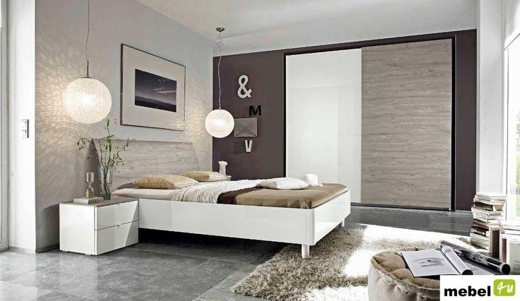 Łóżko MODO wezgłowie zaokrąglone 2 rodzaje ramy - sklep meblowy