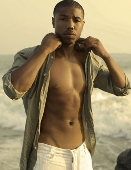 After gaining a significant amount of attention in a Zac Efron movie of all things, it would be natural for a person's first impression of Michael B. Jordan to be one of the typical young actor. Description from gaycelebritygossip.com. I searched for this on bing.com/images