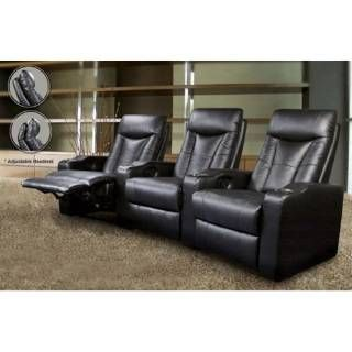 Check out the Coaster Furniture 600130-4 Set of 4 Theater Recliners in Black priced  sc 1 st  Pinterest & Best 25+ Theater recliners ideas on Pinterest | Theatre room ... islam-shia.org