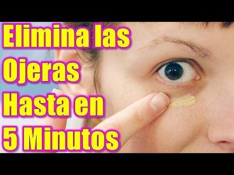 Aprende como quitar las ojeras hasta en 5 minutos con remedios caseros, 100% Real y Efectivo ¡!! - YouTube