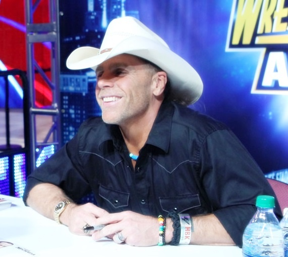 Shawn Michaels. Your face is my favorite.