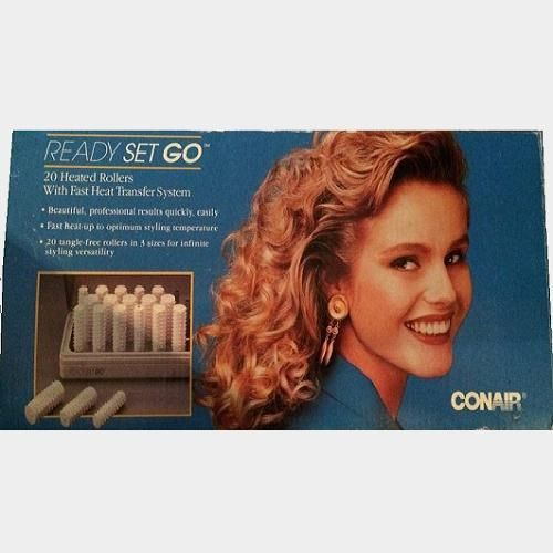 Conair Ready Set GO Hot Rollers Curlers Dance Pageant